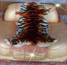 100% Australia Sheepskin Tiger Stripes Skin Wool Rug Mat Cushion Sofa Car Seat