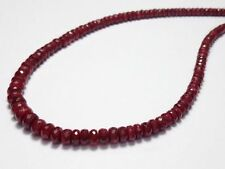 "Handmade Natural Ruby 18 - 19.99"" Fine Necklaces & Pendants"