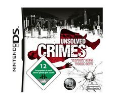 Unsolved Crimes - Tatort New York City (Nintendo DS, 2008) NEU & OVP