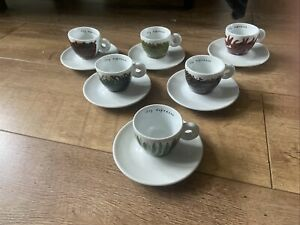 Illy Espresso Cups. Francis Ford Coppola Textures Of Home Collection 2000