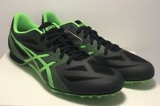 Asics Mens Size 11 Hyper MD 6 Track & Field Shoes Black Green