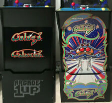 Arcade1up Cabinet Riser Graphics - Galaga Galaxian Graphic Sticker Decal Set