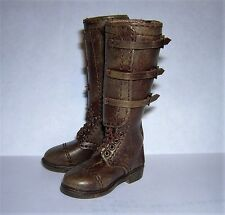 DID 1/6th Scale WW2 U.S. Army 2nd Armored Division Leather Boots - Donald