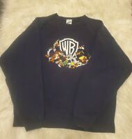 Vintage 1998 Warner Bros Looney Tunes Crewneck Sweatshirt Sweater Size M Adult