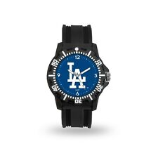 Los Angeles Dodgers MLB Team Black Band Model 3 Watch
