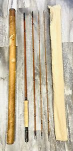 Vintage James Heddon Bamboo Fly Rod 9' Excellent Rare Tube #20