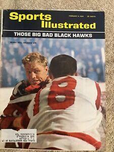 Sports Illustrated Magazine February 3, 1964 ~ Bobby Hull, Chicago Blackhawks