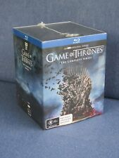 GAME OF THRONES COMPLETE SERIES 1 - 8 BLU RAY NEW SEALED 7 6 5 4 3 2 DVD BOX SET
