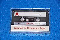 NAKAMICHI   SX    C-90  VS. II   TYPE II   BLANK CASSETTE TAPE (1)   (USED)