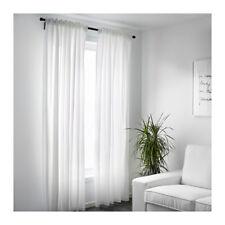 ikea vivan gardinen gardine vorhang 2 stk in weiss 145 x 300 cm neuw - Wohnzimmer Vorhang Ikea