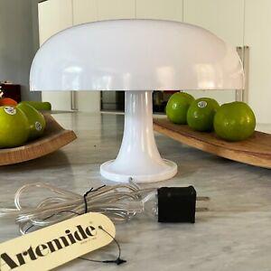 ARTEMIDE Nessino Table Lamp White by Giancarlo Mattioli