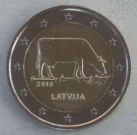 2 Euro Lettland 2016 Milchwirtschaft unz.