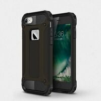 iPhone Shockproof Armor Strong Hybrid Tough Back Case Hard Rugged Impact Cover