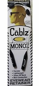 Cablz Monoz 14'' White Adjustable Eyewear Container