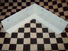 Wholesale Lot 50 - White Galvanized Steel Rabbit Cage Corner Urine Guard Parts