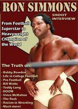 Ron Simmons Shoot Interview DVD, Farooq WCW WWE WWF ECW