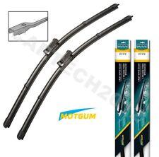 """FIAT DOBLO MK2 2010+ Front Pair Aero Flat Windscreen Wiper Blades 24""""16"""" (D)"""