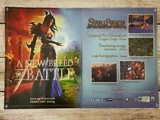 Spellforce the Order of Dawn PC CD-Rom 2004 Vintage Promo Ad Art Print Poster