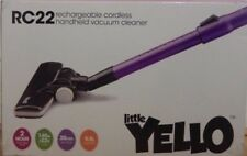 Little YellO RC22 Dual Cyclone Li-on Cordless Vacuum 140W with Accessory Kit.