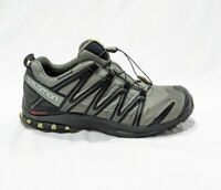SALOMON Othrolite XA PRO 3D Black Gray Trail Running Hiking Shoes MENS SIZE 12.5