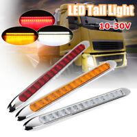 15 LED Ultra-Slim Trailer Truck Caravan UTE Stop Brake Lamp Tail Reverse Light !