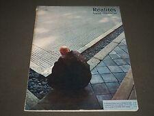 1958 MAY REALITES FEMINA ILLUSTRATION FRENCH MAGAZINE - NICE PHOTOS - ST 5088