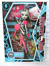 MONSTER HIGH..DAWN OF THE DANCE..FRANKIE STEIN DOLL..NEW in BOX