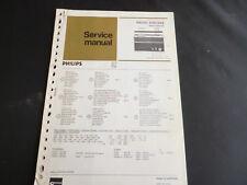 Original Service Manual  Philips RADIO 50IC324