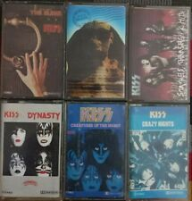 Kiss cassette lot 6 tapes Imported Spanish Edition