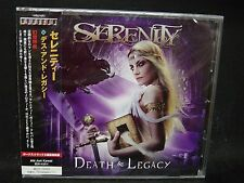 SERENITY Death & Legacy + 3 JAPAN CD Visions Of Atlantis Pathosray Fairyland