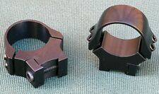 ZASTAVA MP-22 scope rings, mounts, 1 inch, Quality STEEL GLOSS BLUE.