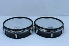 """TWO Roland PD-125 BK V Drum 12"""" Mesh Head PD125 VDrum for TD 105 20 120 30 12 10"""