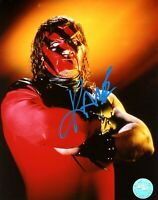 WWE KANE HAND SIGNED AUTOGRAPHED 8X10 PHOTO WITH PICTURE PROOF AND COA 15