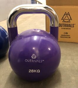 Kettlebells Competition Style 28kg Heavy Steel Fitness Crossfit Home Gym