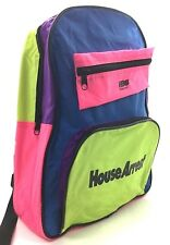 HBO Home Video House Arrest Backpack Neon School Bag & Pouch Movie Memorabilla