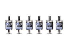 6 x lpg autogas filtro respiraderos 12mm 12/12 para BRC, KME, Stag, Lovato uni