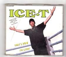 (HX185) Ice T, That's How I'm Livin' - 1993 CD