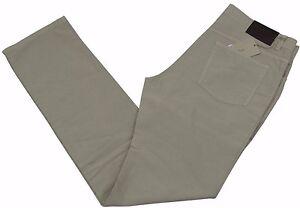 Brioni Livigno Jeans Handmade in Italy BNWT Luxury Beige Size 32 £345