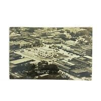 Vintage 1942 Postcard Neosho Missouri Aerial View Town Square Buildings