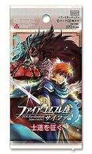 """(1pack)TCG Fire Emblem 0 (Cipher) Booster Pack """"Conquest the Shido""""(10 cards in)"""
