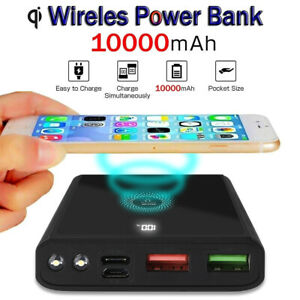 Portable Power Bank Pack Battery Charger 10000mAh for iPhone 12 Mini 12Pro Max
