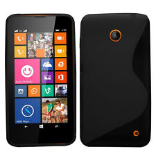 Favored Fashion S-Line Rubber Soft TPU Case Gel Cover For Nokia Lumia 630 635