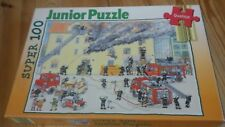 Super 100 Junior Puzzle Feuerwehr, komplett