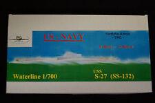 HP Models  US-Navy U-Boot der S-Klasse    S-27 (SS-132) -1942-  1:700 Resin