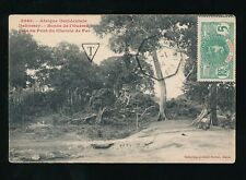 FRENCH WEST AFRICA 1914 MARITIME IVORY COAST PPC + TAXE...SS AFRIQUE