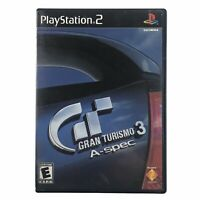 Gran Turismo 3 A-spec PlayStation 2 PS2 Complete w/Manual CIB Tested Works