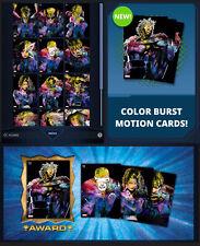 COLOR BURST SERIES 2 X-MEN MOTION-12 CARD SET-TOPPS MARVEL COLLECT DIGITAL