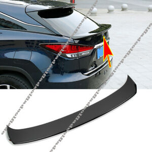 For Lexus RX350 450h 2016-2021 Rear Tail Gate Center Garnish Middle Wing Spoiler