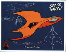 SPACE GHOST - PHANTOM CRUISER MODEL SHEET Pin Up Poster HB TV