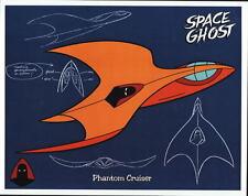 SPACE GHOST - PHANTOM CRUISER MODEL SHEET Pin Up Poster HB TV